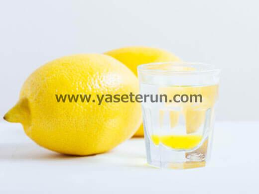 ビタミンCが豊富なレモンとレモン水