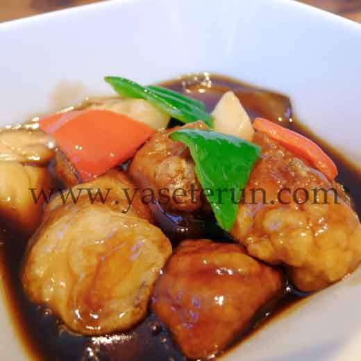 近年の健康ブームから黒酢などを用いた料理も人気
