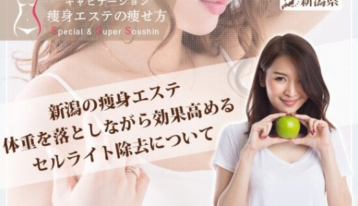 新潟の痩身エステ安いオススメな人気店の評価が高い理由を教えて!