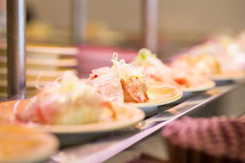 毎食回転寿司にする必要はないのもポイント