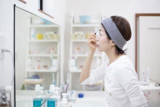 美白化粧品の中には肌への刺激が強いものもある