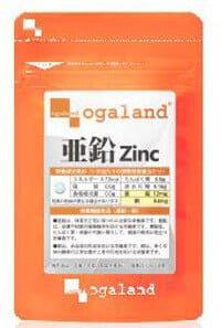 天使の葉酸 オーガランドの亜鉛zinc